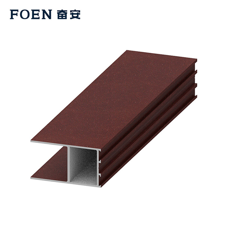 Construction extrusion aluminium profile